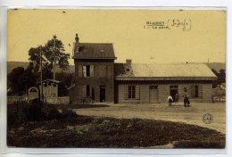 76 BLANGY Sur BRESLE Visuel Rare--Edit CAB 7-  La Petite Gare Du Village   /D18-S2017 - Blangy-sur-Bresle
