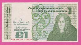 IRLANDE REPUBLIQUE - 1 Pound Du 01 11 1979 - Pick 70 B - Ireland