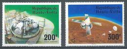 Haute-Volta Poste Aérienne YT N°208/209 Opération Viking Sur Mars Neuf ** - Haute-Volta (1958-1984)
