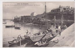 26321 Le Conquet Cale Embarquement Courrie Ouessant Bateau Vapeur La Louise Brest - 5109 Villard - France