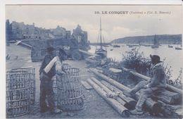 26322 Le Conquet Port - Pecheur Casier - Bretagne France Brest - Ed 38 ? - Pêche