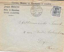 Lettre Du Luxembourg Pour La France. (Voir Commentaires) - Luxembourg