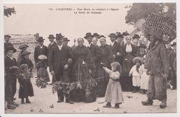 26323 Locquirec Noce Eglise Droit Passage - éd 789 ? Enfant Costume Breton Pecheur Nasse Homard - Locquirec