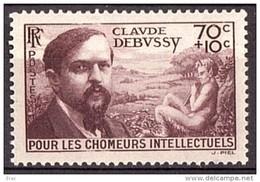 1939 - Debussy - N° 437 - Neuf ** - France