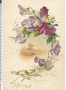 Catharina KLEIN - Chromo Format 20 X 30 Cm Sur Carton -  Violettes Et Paysage - Beaux Arts, Peinture - Unclassified