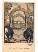 CROIX ROUGE De BELGIQUE - Par Fernand ALLARD L'OLIVIER - Dans Les Plus Beaux Jardins, La Mort Guette Et Tend -TBE  -N°1 - Croix-Rouge