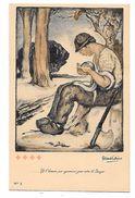 CROIX ROUGE De BELGIQUE - Par Fernand ALLARD L'OLIVIER - Et L'homme Par Ignorance Joue Avec Le Danger-TBE  -N°2 - Croix-Rouge