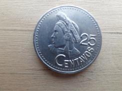 Guatemala  25  Centavos  1993  Km 278 - Guatemala