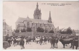 26330 Saint Thegonnec Eglise Nord Marché Bestiaux -757 Villard -boeuf Vache - Saint-Thégonnec