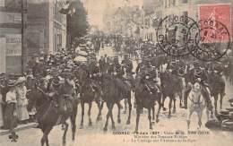 16 - Cognac - 9 Juin 1907 Visite De M. Barthou Ministre Des Travaux Publics, Le Cortège Sur L'Avenue De La Gare - Cognac