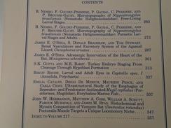 NIPPOSTRONGYLUS NEMATODES HELIGMOSOMATIDAE AGAMIDAE CTENOPHORUS MINIOPTERUS ANNELIDES MUGILIDAE JOURNAL MORPHOLOGY 217 - Biological Science