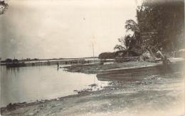 Benin - Cotonou - Le Coin Des Pêcheurs Sur La Lagune, 1er Mai 1940, Carte Photo - Benin