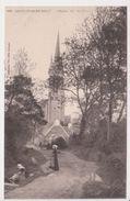 26332 Saint Jean Du Doigt Eglise Vue Chemin -683 Villard -costume Breton Coiffe Lavandiere - Saint-Jean-du-Doigt