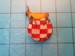Pin413a Pin's Pins / CLUB FOOTBALL CHEVILLY LARUE RENNE CERF CARIBOU ELAN ?  , Belle Qualité !!! - Football
