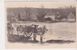 26334 Petit Carhaix - 605 Villard -attelage Chevaux Charrette - Carhaix-Plouguer