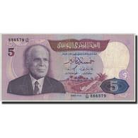 Tunisie, 5 Dinars, 1983, 1983-11-03, KM:79, TB - Tunisia