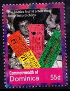 Beatles, English Rock Band, Music, Dominica 200 MNH Millennium - Muziek