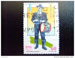 ESPAÑA 1996 UPAEP TRAJE TIPICO MASCULINO Edifil N 3452 FU Yvert N 3032 FU - 1931-Hoy: 2ª República - ... Juan Carlos I