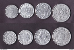 Azerbaijan 4 Coins Set 1992-1993 - Azerbaïjan