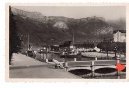 18215-LE-74-ANNECY-Le Port Et Le Mont-Veyrier----------bateaux - Annecy