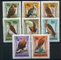 HONGRIE ( AERIEN ) : Y&T N°  250/257  TIMBRES  NEUFS  AVEC  TRACE  DE  CHARNIERE , A  VOIR . - Airmail
