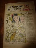 1949 LSDS : Le Train De La Reconnaissance Des Français Aux USA; La CIGALE Et Le Cannibale; Etc - La Semaine De Suzette