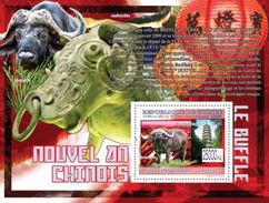 GUINEA 2009 - Linggu Temple - YT BF989; CV = 13 € - Buddhism