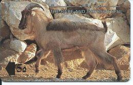 Chèvre Télécarte Animal Phonecard  (D 178) - Koweït