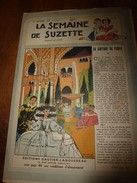 1949 LSDS  (La Semaine De Suzette) : La GUITARE Du GITAN PABLO De GRENADE (Espagne); ; Etc - La Semaine De Suzette