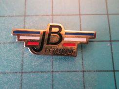 Pin413a Pin's Pins / SPORT Pétanque RARE JB BRETAGNE     , Belle Qualité !!!    Marquage Au Dos : --- - Bowls - Pétanque