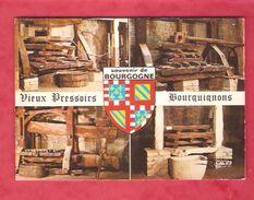 Souvenir De Bourgogne - Vieux Pressoirs Bourguignons - Vignes