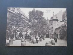 AK München Hof Im Hofbräuhaus. Bierfässer. 27. Verbandstag Handelsschutz U. Rabattsparvereine 1929 - Hotels & Gaststätten