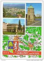Jablonec Nad Nisou Mapa Mape Mappe Landkarte - Czech Republic