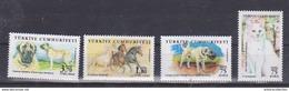 AC - TURKEY STAMP -   ANIMALS AKSARAY MALAKLISI DOG, HORSE, VAN CAT, KANGAL SHEEPDOG  MNH 07 NOVEMBER 2017 - Neufs