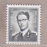 """1953 Nr 924**  Postfris Zonder Scharnier,zegel Uit Reeks Koning Boudewijn """" Marchand """". - 1953-1972 Brillen"""