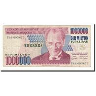 Turquie, 1,000,000 Lira, L.1970, KM:213, B+ - Turkey