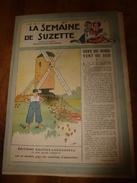 1948 LSDS  (La Semaine De Suzette) :Vent Du Nord, Vent Du Sud En Hollande Et Le Meunier Fritz Berkel ; Etc - La Semaine De Suzette