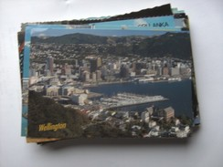 Nieuw Zeeland New Zealand Wellington Panorama - Nieuw-Zeeland
