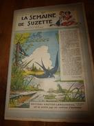 1948 LSDS  (La Semaine De Suzette) :Vent Du Nord, Vent Du Sud ; L'HIRONDELLE Et Le BROCHET; La Route De Chartres; Etc - La Semaine De Suzette