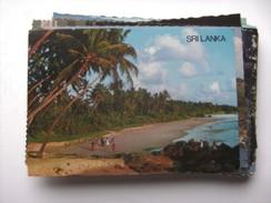 Sri Lanka Ceylon Beach Scene - Sri Lanka (Ceylon)