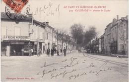CAUSSADE - Avenue De Caylus - La Ruche Méridionale, Epicerie-Mercerie - Animé - TBE - Caussade