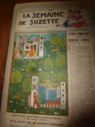 1948 LSDS  (La Semaine De Suzette) :Les PAPILLONS Et Aménagement D'une Collection; Etc - La Semaine De Suzette