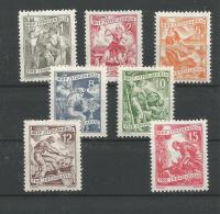 Jugoslawien 717-723  ** Postfrisch - 1945-1992 Socialistische Federale Republiek Joegoslavië