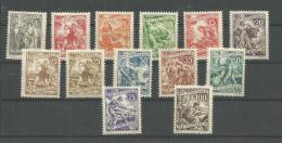 Jugoslawien 677-688+683 I   ** Postfrisch  Michel 150 Euro - 1945-1992 Socialistische Federale Republiek Joegoslavië