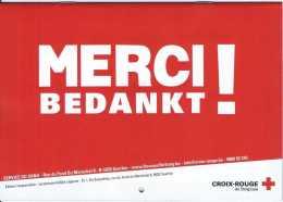Calendrier 2018 Croix-Rouge De Belgique - Service Du Sang - Merci Bedankt - Etat Neuf - Calendriers