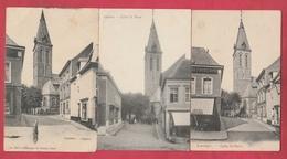 Lessines - L'Eglise ... 3 Cartes Différentes  (voir Verso ) - Lessen