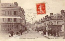 CPA - LIANCOURT (60) - Aspect Du Quartier De La Rue Victor-Hugo En 1917 - Liancourt