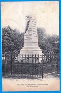 VILLERS EN ARTHIES 95 SEINE ET OISE VAL D'OISE LE MONUMENT -SUR MON SITE Serbon63 DES MILLIERS D'ARTICLES SONT EN VENTES - France