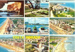 Espagne - Cataluña -Costa Dorada - (Tarragona) - Multivues - Raymond S.A. Nº 4 - Neuve - 2399 - Tarragona