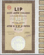 STE D'HORLOGERIE LIP - Actions & Titres